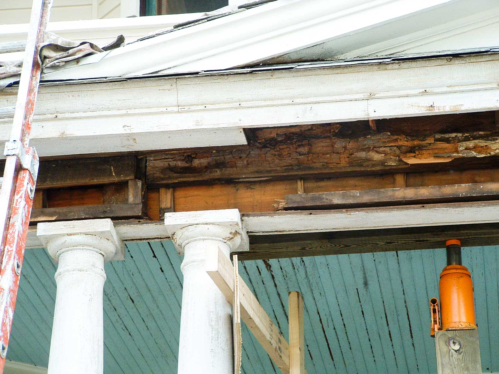 Exterior Home Building Repair And Surface Cleaning
