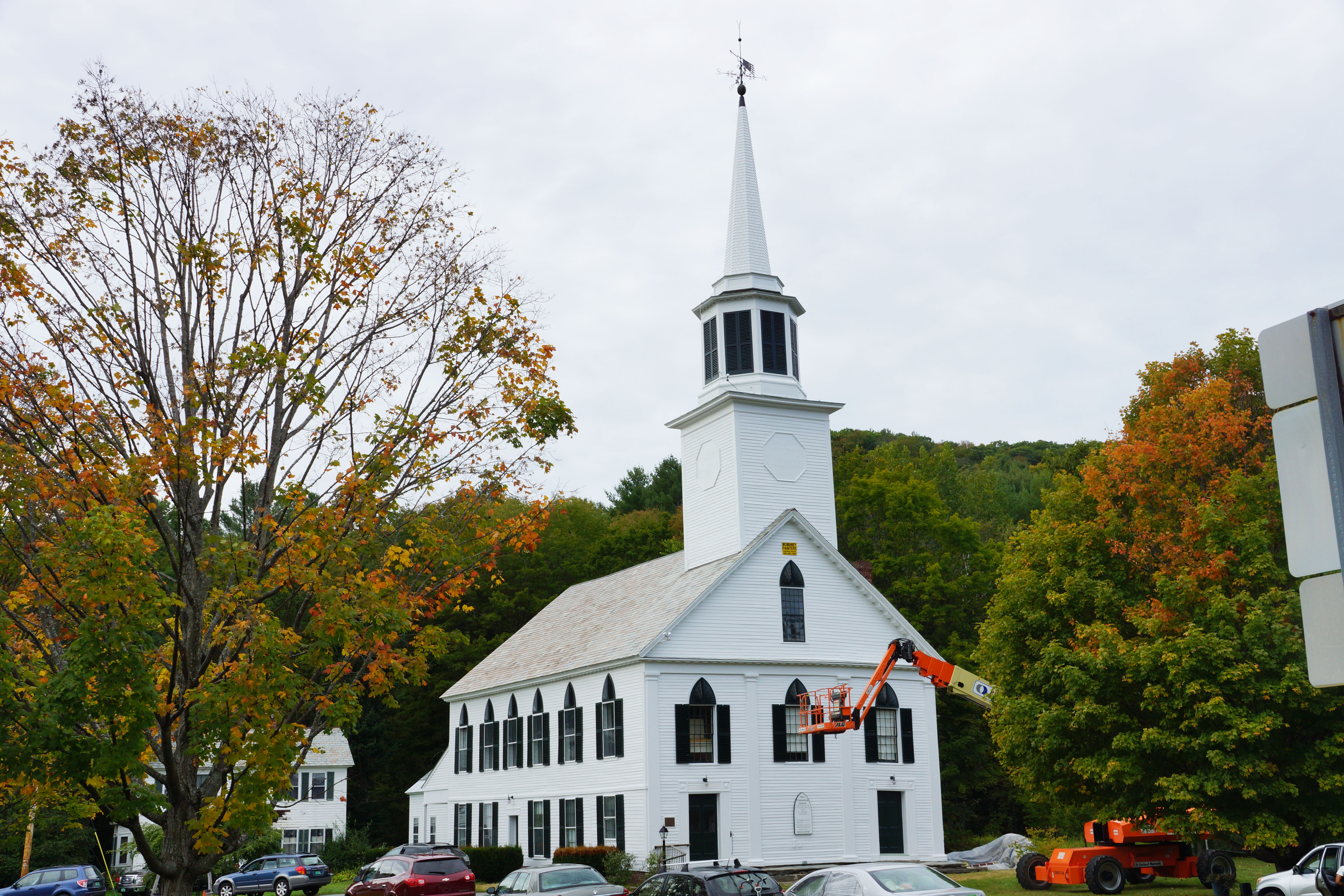 Townshend church townshend vt momaney painters for Exterior painting wilmington ma