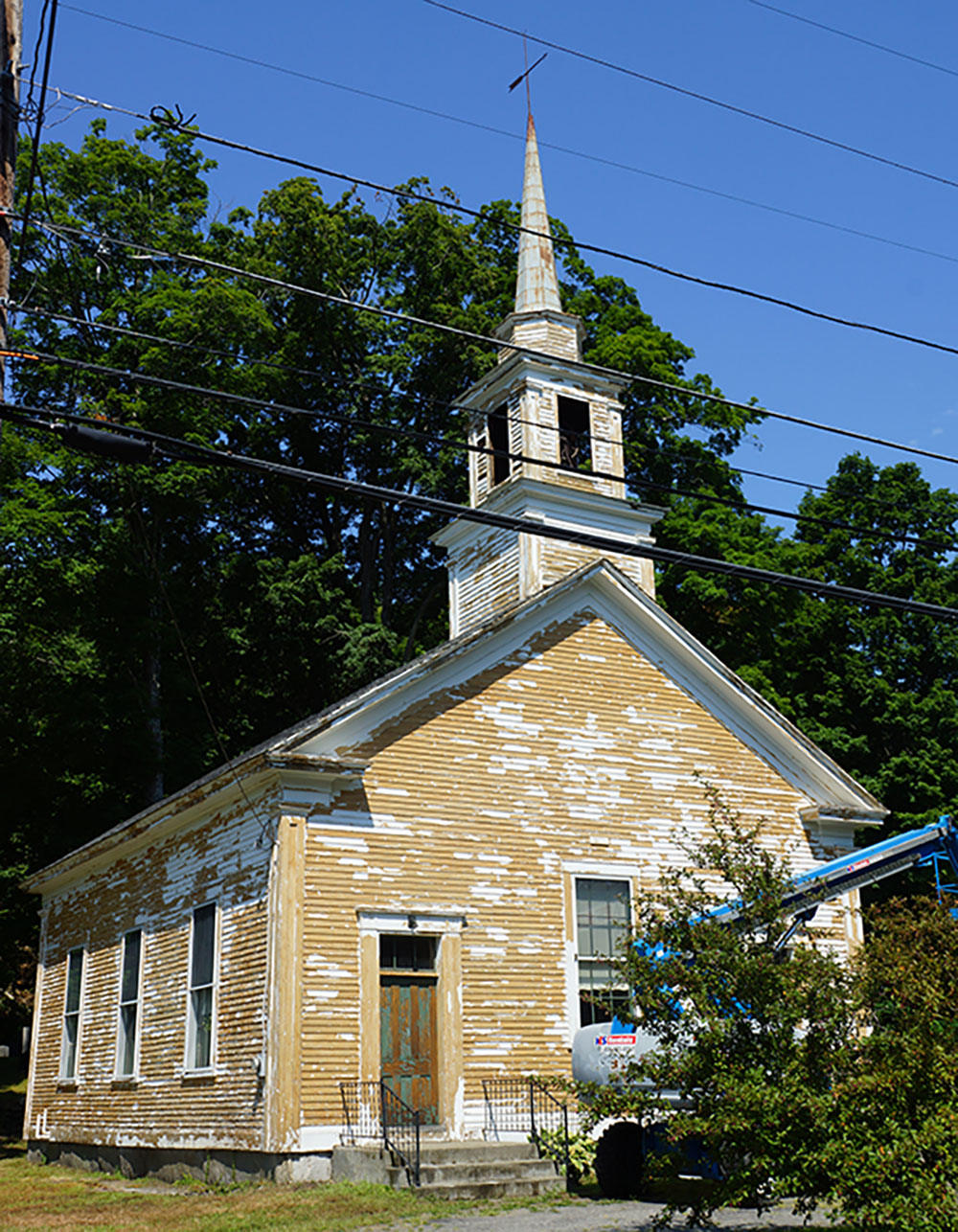 West dummerston church west dummerston momaney painters for Exterior painting wilmington ma